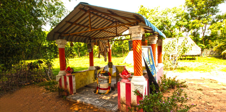 Raja Raja Cholan's Memorial Place In Udayalur