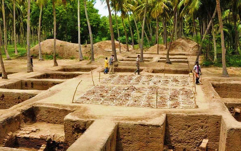 Keezhadi excavation project