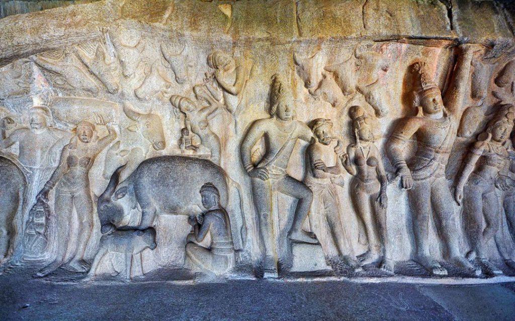 mahabalipuram-krishna-mandapam-tamilnadu