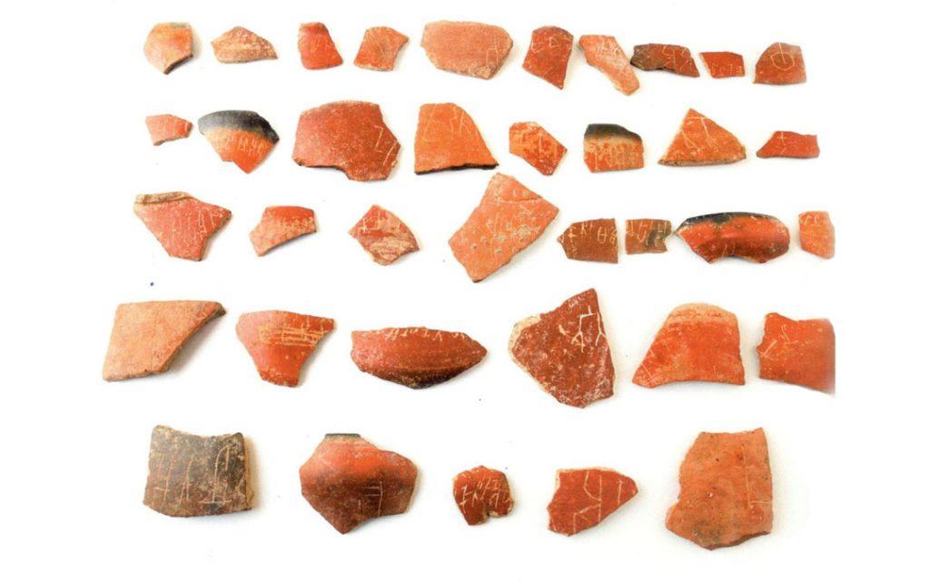 Potsherds found in Keeladi excavation
