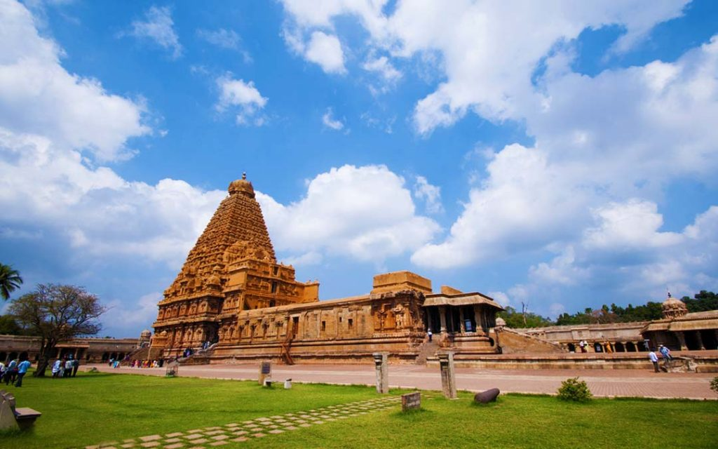 Brahadeeshwarar temple in Thanjavur