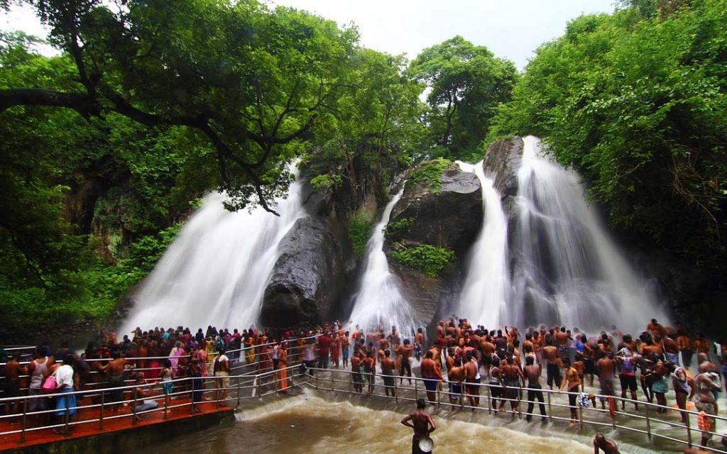 Courtallam waterfalls