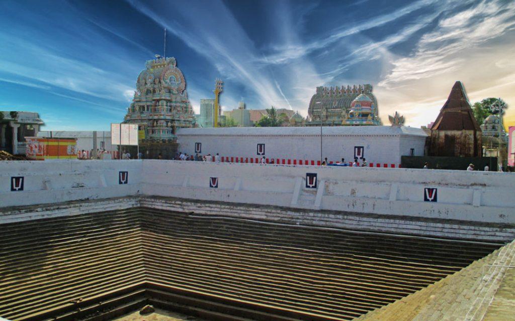Ulagalantha perumal temple tank