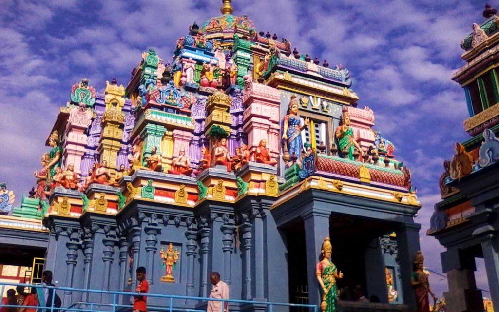Ashtalakshmi Temple near Chennai Besant Nagar beach