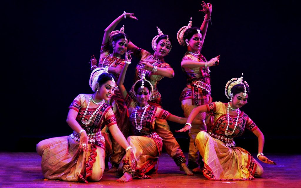Classical dance performance in Chennai Margazhi Carnatic Music and Classical Dance Festival
