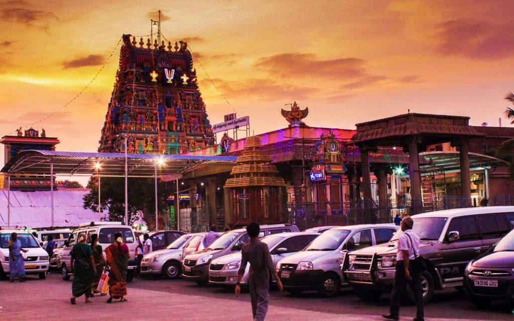 Parthasarathy temple in Chennai Triplicane
