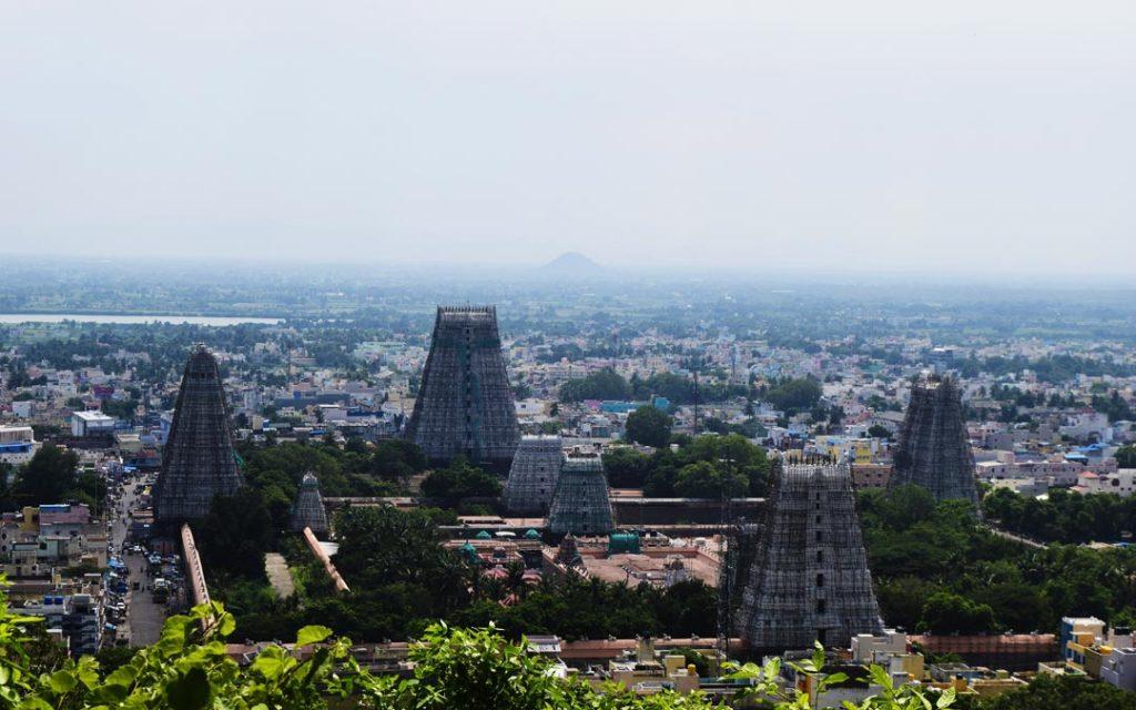 Thiruvannamali Temple hill view