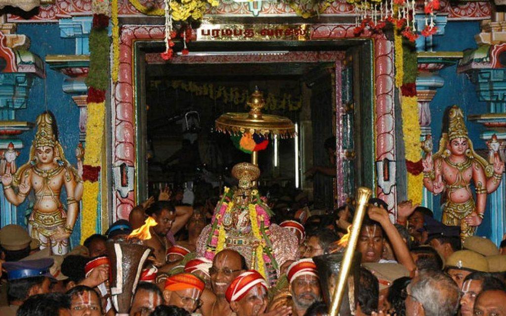 Srirangam Vaikuntha Ekadashi paramapadha vasal