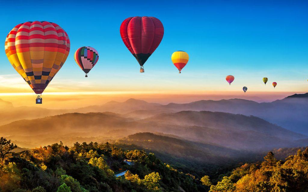 Hot Air Balloons at TNIBF 2020 in Pollachi