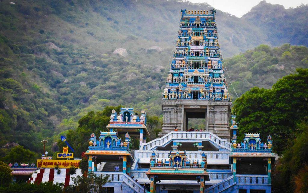 A wonderful view of Maruthamalai Murugan temple in Coimbatore.