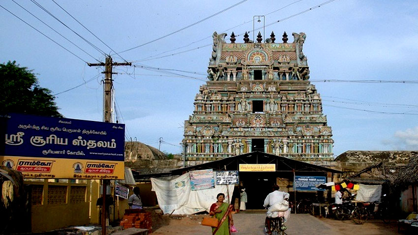 REASON TO VISIT SURYANAR KOVIL NEAR KUMBAKONAM IN TAMILNADU