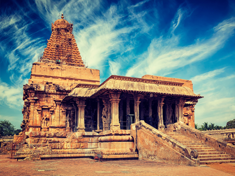 Tanjore, Chidambaram, Pondicherry - Arupadai Veedu Tour Packages - Taminadu Tourism Travel